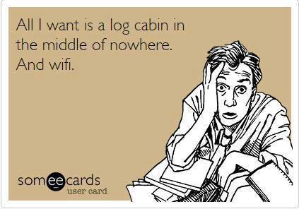 cabin and wifi