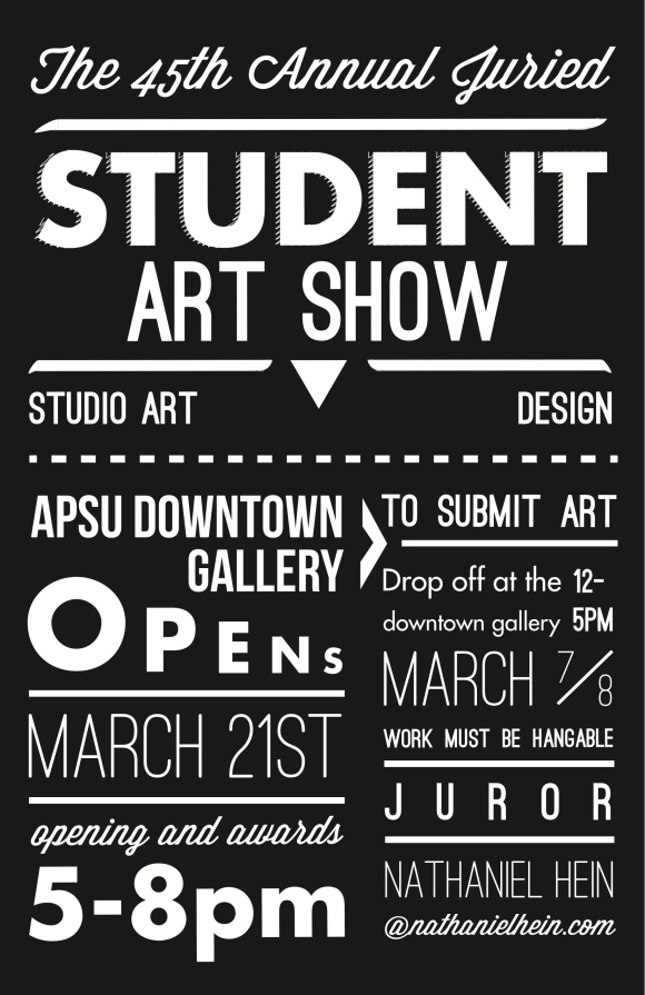 Student-Show-Poster